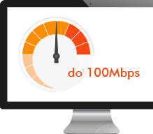 Ekran monitora z transferem do 100 Mbps